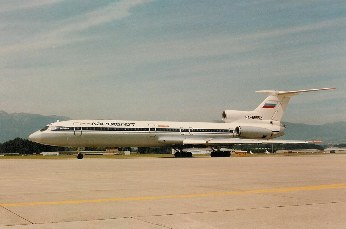 RA85552 Tupolev Tu-154B-2 Aeroflot